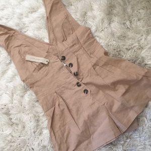 Pants - Beige romper